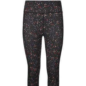 Sweaty Betty Multi Ditsy Star Crop Legging